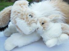 """Beautiful Large 21"""" Rabbit  with Baby Bunny Excellent Quality Toy CWC Imports"""