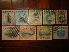 Malaya Labuan North Borneo1894-96 Complete Set CV Rm400