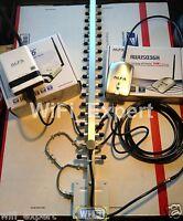 WiFi Antenna 18dBi YAGI + ALFA R36 + G Netw Long Range Booster GET FREE INTERNET