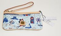 "Disney Dooney & Bourke Disneyland ""Circa 1955"" Mickey Mouse Wristlet - Retired"
