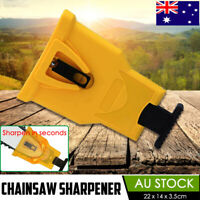 Chainsaw Tool Teeth Sharpener Woodworking Self Sharpening Grinding Chain Quick