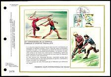 BELGIEN CEF 1977 SPORTS HOCKEY FOOTBALL SOCCER GYMNASTIC LTD. ONLY 3.800 !! zc34