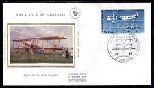 FRANCE FDC - PA 57 1 AVION FARMAN F60 GOLIATH 3 Mars 1984 - LUXE sur soie