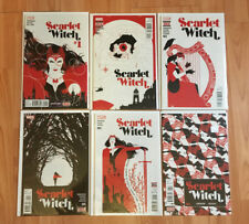 Scarlet Witch #1 2 3 4 5 6 COMPLETE RUN (2015 Marvel) - NM!