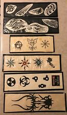 Lot of 6 Tattoo Flash Art Vintage