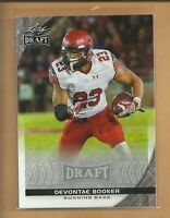 Devontae Booker RC 2016 Leaf Draft Rookie Card # 29 Denver Broncos Football