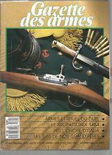 GAZETTE DES ARMES N°194 ARMES ET RITUEL DU DUEL / LE KROPATSCHEK 1884 / LES 7,65