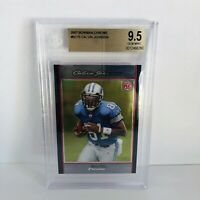 Calvin Johnson 2007 Bowman Chrome BGS 9.5 Gem Mint RC Rookie Card HOF Bound