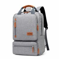 Men Casual Backpack Light 15.6 inch Laptop Anti-theft Travel Student School Bag