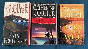 Catherine Coulter Secondhand used books Contemporary Romantic Thriller fiction