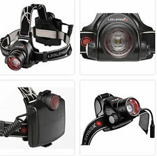 LED LENSER H14.2 3-in-1 Headlamp TORCH FLASHLIGHT Retail Box NEW