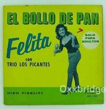 Felita Con Trio Los Picantes, El Bollo De Pan SPANORAMIC LP Original Record