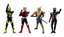 Bandai Kamen Masked Rider HG New Editiion 1 Gashapon Figure set 4 pcs