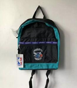 vintage charlotte hornets backpack bag deadstock NWT 90s glen rice muggsy NOS 🏀
