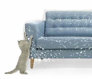 Plastic Couch Cover Pets | Cat Scratching Protector Clawing Deterrent | Heavy