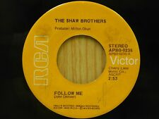 Shaw Brothers 45 Follow Me bw Mama Earth & Papa Sky - RCA VG++