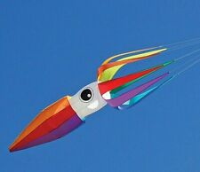 11'  Squid Wind Inflated Kite Line Laundry - Rainbow Colors