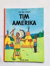 BD Tintin - Tim in Amerika Tim Und Struppi / 1980 / HERGE / CARLSEN VERLAG / ALL