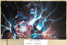 Custom Yugioh Playmat Play Mat Large Mouse Pad Pokemon Lengendary Zekrom  #663