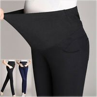 Skinny Pants Trousers Tight Overbumped W/ Cotton Band Slim Comfy Cute M/L/XL/2XL
