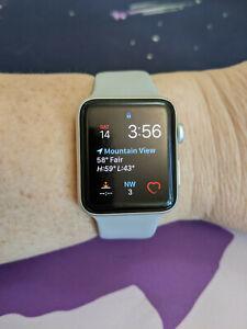 Apple Watch Series 3 GPS 42mm Aluminum Case Silver Aluminum Smartwatch MQL02LL/A