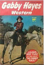 GABBY HAYES WESTERN #11 VF 8.0 FAWCETT 10/1949