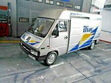 RENAULT Van Master Bus Service Rallye Monte 1995 f Clio Diac WM Monte Otto 1:18