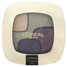L'Oréal Color Riche Quad Luminous Eyeshadow Palette Tresors Caches #P2 New