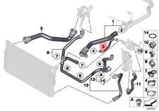 Genuine BMW F20 F20N F21 F21N F22 F23 Radiator Coolant Hose OEM 17127596831