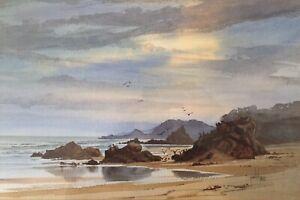Bob Pelchen, A Listed Australian Artist - An Original Watercolour.