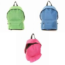 Checked Backpack Handbags