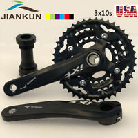 104BCD 64BCD 3X10s Triple Speed MTB Bike Crankset Crank set Chainring Sprocket