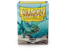 Dragon Shield Standard Size Card matte Sleeves Mint Magic Pokemon 100ct box