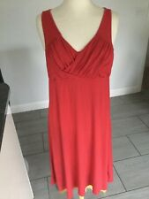 Crew Clothing Ladies Red Sleeveless Dress Size 12 R. Great Condition.