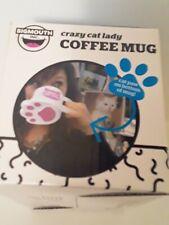 Oversized Crazy Cat Lady Cat's Paw Mug