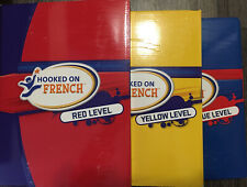 Hooked On French Three Levels, Red, Yellow & Blue