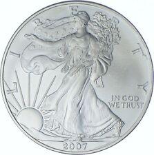 Better Date 2007 American Silver Eagle 1 Troy Oz .999 Fine Silver *173
