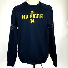 Michigan Wolverines ADIDAS Climawarm Performance Sweatshirt Mens Medium M