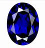 Unheated Blue Sapphire 4.76cts 10x12mm Oval Cut Shape AAAAA VVS Loose Gemstone