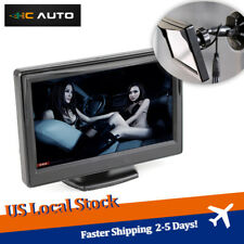 5 Inch Mini Car Parking Rear View HD Monitor Screen with Dashboard Suction Mount