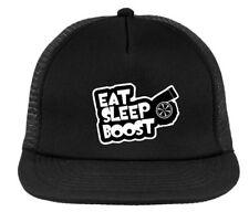 EAT SLEEP BOOST JDM trucker hat , snapback