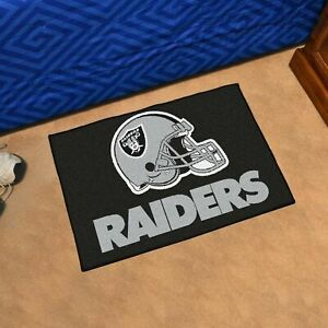 "Oakland Raiders 19"" X 30"" Starter Area Rug Mat"