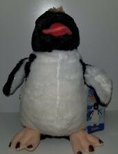 "Build A Bear Limited Edition Happy Feet Ramon Penguin Plush 9"" Nwt!"