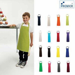 Junior Chef Apron Cooking Kitchen School Kids Children Child Bib Fancy Dress