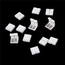 Adattatore connettore RGB 10X 4-PIN per striscia LED 5050 RGB senza saldature BE