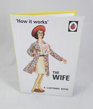'How it works' The Wife A Ladybird Book Retro for Adults Very funny gift New