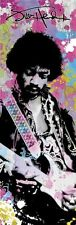 (LAMINATED) JIMI HENDRIX PAINT SPLASH DOOR POSTER (53x158cm) TRIPPY PSYCHEDELLIC