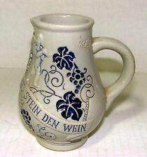 Wick-Werke Stoneware Creamer - Trinkt Wie Eure Vater Aus Stein Den Wein