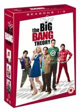 The Big Bang Theory Season 1-3 [DVD], , Like New, DVD