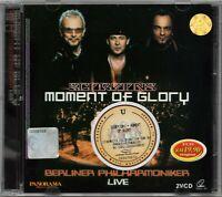 SCORPIONS Moment Of Glory Berliner Philharmoniker LIVE 2 VIDEO CD RARE FREE SHIP